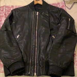 The Kooples men's leather jacket